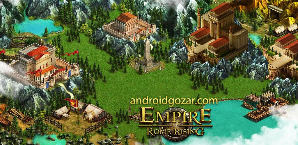 Empire:Rome Rising 1.26 دانلود بازی استراتژیک امپراتوری:طلوع رم اندروید