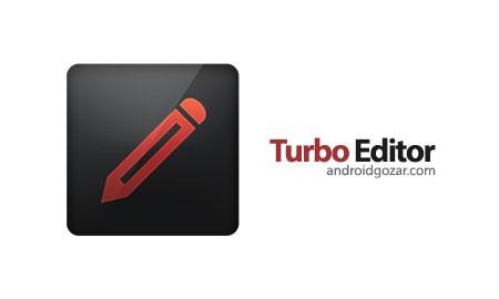 Turbo Editor PRO (Text Editor) 2.4 دانلود نرم افزار ویرایشگر متن