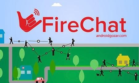 FireChat 8.0.8 دانلود نرم افزار چت بدون اینترنت اندروید