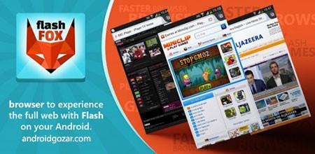 FlashFox Pro – Flash Browser 44.0 دانلود مرورگر فلش