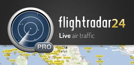Flightradar24 Pro 6.7.1 Patched دانلود نرم افزار نمایش خطوط پرواز هواپیماها