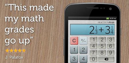 Fraction Calculator Plus 3.6.0 دانلود ماشین حساب پیشرفته کسرها