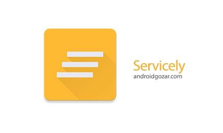 Servicely Pro 1.2.3 دانلود نرم افزار کنترل خدمات برنامه های نصب شده