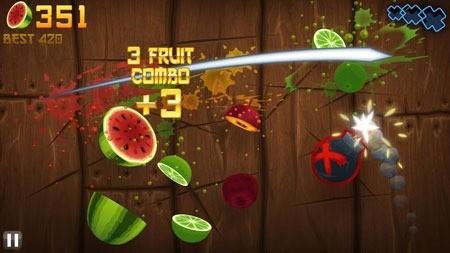 Fruit Ninja 2.3.8 دانلود بازی نینجای میوه + مود + دیتا
