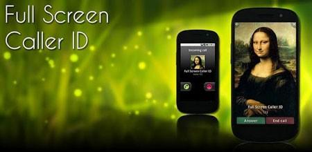 Full Screen Caller ID Pro 11.2.8 تصویر تمام صفحه تماس گیرنده اندروید