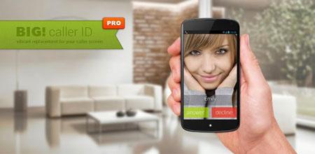 Full Screen Caller ID Pro – BIG! 3.5.1.17 نمایش تمام صفحه تصویر تماس گیرنده