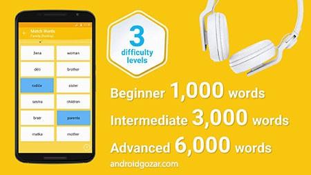 Learn English 6000 Words Full 5.14 دانلود نرم افزار یادگیری لغات انگلیسی