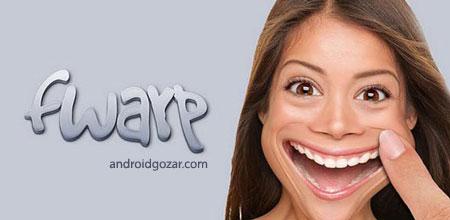 Fwarp 1.5 دانلود نرم افزار خنده دار کردن چهره