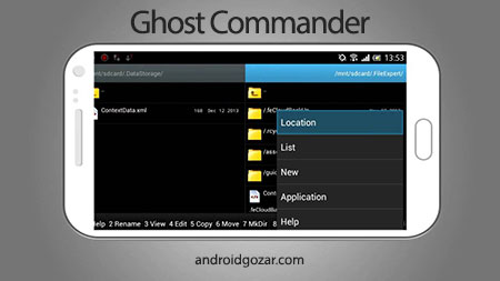 Ghost Commander File Manager 1.53.10 برنامه مدیریت فایل اندروید