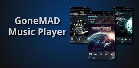 GoneMAD Music Player FULL 2.2.1 نرم افزار پخش موسیقی اندروید