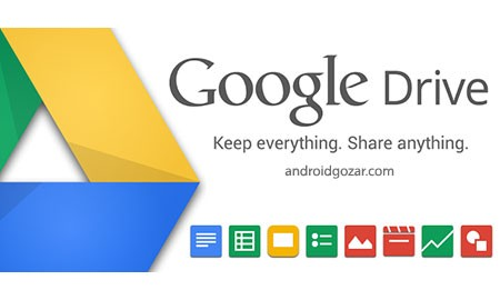 Google Drive 2.7.063.12.30 دانلود نرم افزار گوگل درایو اندروید