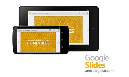 Google Slides 1.6.392.05.30 ساخت و ویرایش ارائه در اندروید