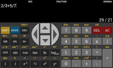 HF Scientific Calculator Pro 5.5.3 دانلود نرم افزار ماشین حساب علمی پیشرفته