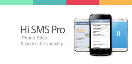 Hi SMS Pro 2.4 دانلود نرم افزار مدیریت پیامک با ظاهر آیفون