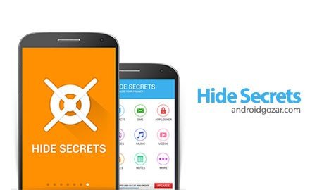 Hide Secrets Premium – Pics, SMS, Apps 4.1 مخفی کردن اسرار