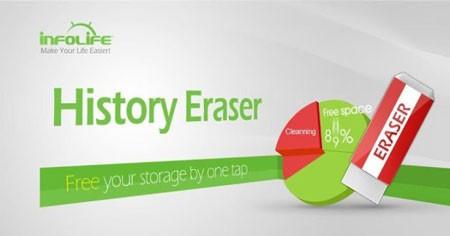 History Eraser Pro – Clean up 5.3.6 دانلود نرم افزار پاک کردن تاریخچه