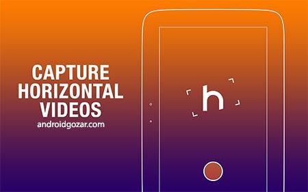 Horizon Camera 1.5.2.6 Unlocked دانلود نرم افزار دوربین افقی اندروید