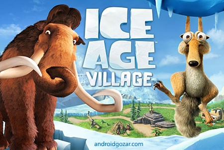 Ice Age Village 3.5.5a دانلود بازی دهکده عصر یخبندان اندروید + مود