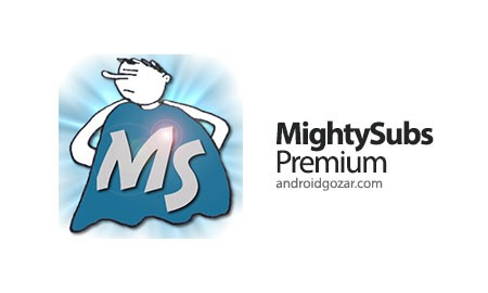 MightySubs Premium 1.8.0 دانلود زیرنویس فیلم و سریال