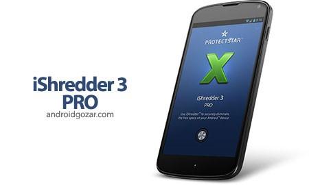 iShredder 5 Military 5.1.2 دانلود نرم افزار حذف دائمی فایل های اندروید