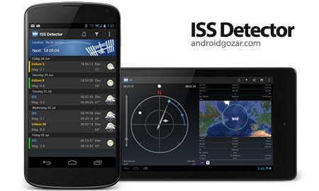 ISS Detector Satellite Tracker Pro 2.02.39 ردیابی ماهواره در اندروید