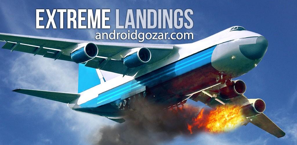 Extreme Landings Pro 3.1 دانلود بازی کنترل و مدیریت پروازهای بحرانی اندروید+دیتا