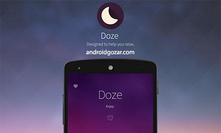 Doze – Relaxing Music Premium 3.60 دانلود نرم افزار آهنگ های آرامش بخش