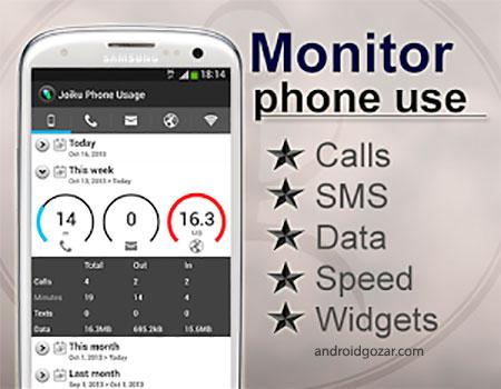 Joiku Phone Usage PRO 2.38 نرم افزار کنترل مصرف موبایل