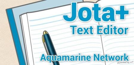 Jota+ (Text Editor) PRO 2016.14 دانلود نرم افزار ویرایشگر متن اندروید