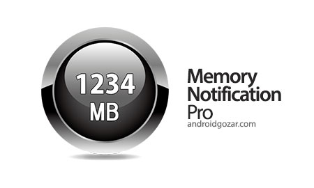 Memory Notification Pro 1.0.9 نمایش وضعیت RAM در نوار وضعیت