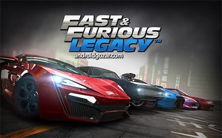 Fast & Furious: Legacy 3.0.2 دانلود بازی سریع و خشن: میراث+دیتا