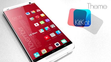 KitKat HD Launcher Theme 7 in1 1.4.4 دانلود تم لانچر کیت کت