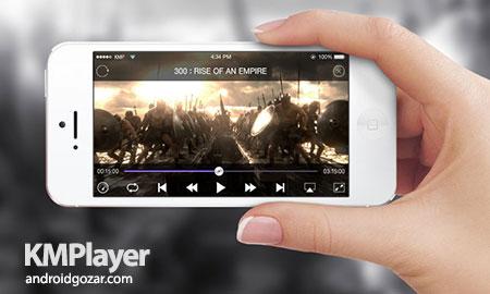 KMPlayer Pro 2.1.0 Paid دانلود نرم افزار موبایل کی ام پلیر اندروید