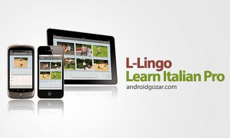 L-Lingo Learn Italian Pro 5.6.22 دانلود نرم افزار آموزش زبان ایتالیایی