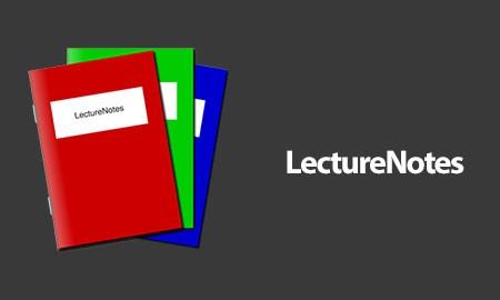 LectureNotes 2.7.7 یادداشت برداری با دست خط در اندروید