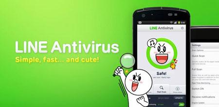 LINE Antivirus 1.1.09 دانلود نرم افزار آنتی ویروس لاین اندروید