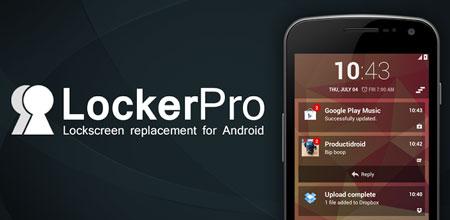 LockerPro Lockscreen 5.7 دانلود نرم افزار قفل صفحه نمایش