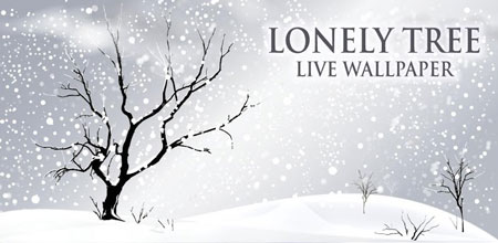 Lonely Tree Live Wallpaper 1.42 دانلود لایو والپیپر درخت تنها