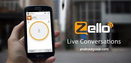 Zello PTT Walkie Talkie 3.48 دانلود نرم افزار تبدیل موبایل به بی سیم