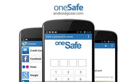 oneSafe | password manager 1.3.4 دانلود نرم افزار مدیریت رمز عبور