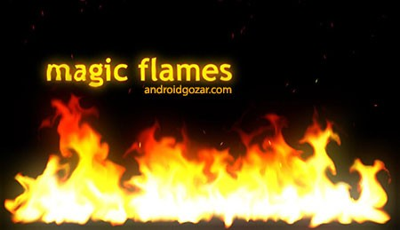 Magic Flames 1.0.1 دانلود نرم افزار شبیه ساز شعله های آتش