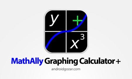 MathAlly Graphing Calculator + 2.8.1 دانلود ماشین حساب نموداری