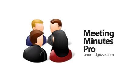 Meeting Minutes Pro 33 دانلود نرم افزار مدیریت و پیگیری جلسات