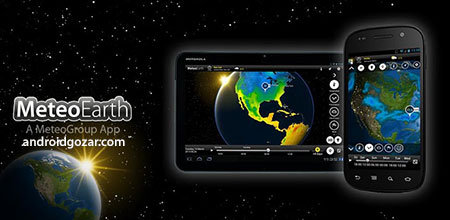 MeteoEarth Premium 2.2 دانلود نرم افزار پیش بینی آب و هوا