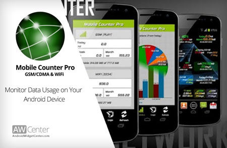 Mobile Counter Pro – 3G, WIFI 4.0 دانلود نرم افزار محاسبه مصرف اینترنت