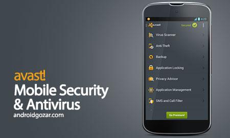 avast Mobile Security & Antivirus Premium 5.11.1 آنتی ویروس آواست اندروید