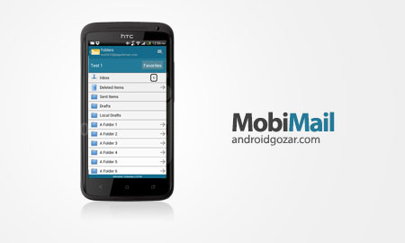 MobiMail for Outlook Web Email 5.0.513 دانلود اوت لوک