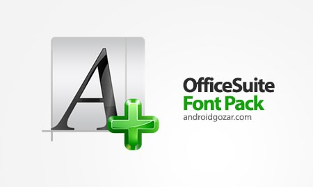 OfficeSuite Font Pack 1.1.5 دانلود بسته فونت OfficeSuite