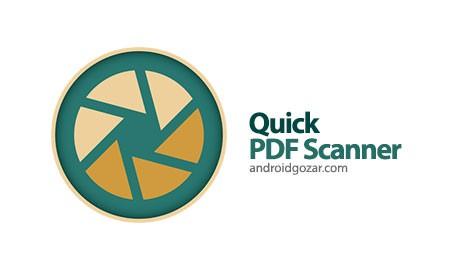 Quick PDF Scanner Pro 4.3.455 Paid دانلود نرم افزار اسکنر سریع اسناد