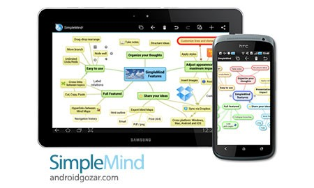 SimpleMind mind mapping 1.12.2 Patched دانلود نرم افزار نقشه برداری ذهنی